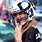 DKNY gets football fever