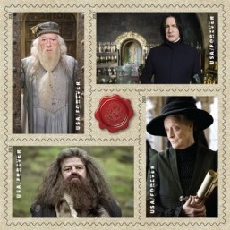 Adventures of Harry Potter Stamps U.S. Postal Service ©U.S. Postal Service