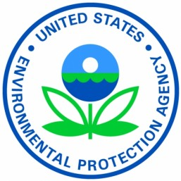Logo of the US Environmental Protection Agency (EPA).