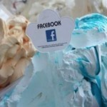 Ice cream maker creates 'Facebook' flavor
