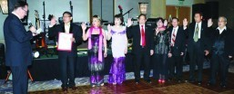 FACLA officers sworn in during 71st Gala Night