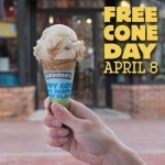 How to score free — or nearly free — ice cream this month