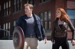 Still of 'Captain America: The Winter Soldier' (2014) starring Chris Evans and Scarlett Johansson ©2014 Marvel. All Rights Reserved.