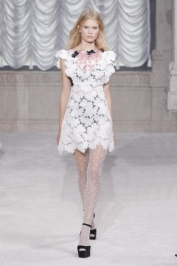 MFW: a playful babydoll aesthetic at Giamba