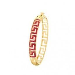 Versace 'Greca Red Rubies' bracelet ©Versace