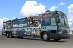 Bus company Greyhound marks centennial anniversary with mobile tour