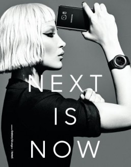 Samsung teases new Gear smartwatch in modern fashion shoot