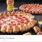 Pizza Hut's hot dog pizza is coming to US
