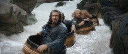 "The famous barrel scene is among the highlights of ""The Hobbit: The Desolation of Smaug."" ©2013 Warner Bros. Entertainment Inc. and Metro-Goldwyn-Mayer Pictures Inc. All Rights Reserved."