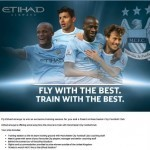 Etihad Airways offers chance to train with Manchester City
