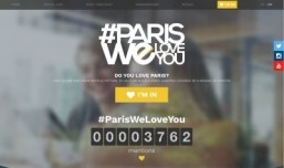 Paris spreads some love with new social campaign