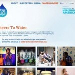 Michelle Obama urges Americans to 'Drink Up'