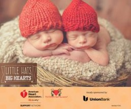 American Heart Association's Little Hats, Big Hearts launches in Los Angeles  Volunteers needed to knit or crochet little red hats for babies born in February