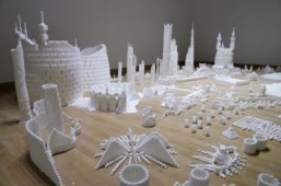 "Bradon Jamison's ""Sugar Metropolis"" on display in Belfast, 2013 ©All rights reserved - Brendan Jamison"