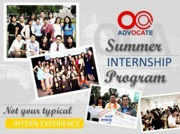 OCA 2016 Summer Internship applications are now open