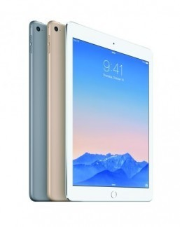 The iPad Air 2 iPads are proving to be popular gifts this holiday season. ©Courtesy of Apple Inc 2014