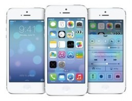 IOS7 for iPhone 5 The redesigned operating system will be ready for consumers to download after the launch event on September 10. ©Apple