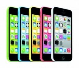 The iPhone 5C Now available in Europe as an 8GB model ©Apple Inc