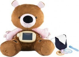 Teddy bear teaches diabetic kids to manage their health