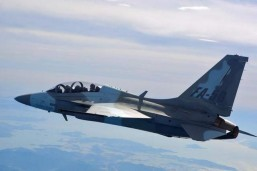 The Philippine government is set to acquire 12 fighter jets from South Korea – FA-50 Golden Eagle light jet fighters as shown above – as it tries to improve its military capability in the wake of territorial disputes in parts of the West Philippine Sea (South China Sea).