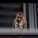 Kate Moss hides from the paparazzi in new Gucci film