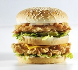 The 'hand-crafted' chicken sandwich at KFC Fresh in Canada. ©KFC Canada