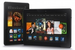 Amazon Kindle Fire HDX tablets ©Business Wire