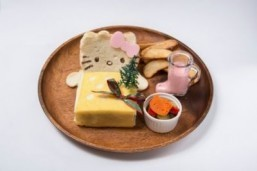 Hello Kitty-themed sandwich at The Guest Cafe and Diner ©All Rights Reserved/The Guest Cafe and Dinner