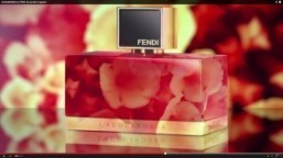 Fendi releases video for L'Acquarossa fragrance