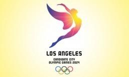 LA 2024 bid unveils Olympic logo, sunny slogan