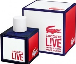 Lacoste L!VE unveils its first fragrance