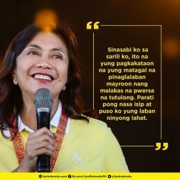 Leni's social media basher apologizes for 'vicious' comment