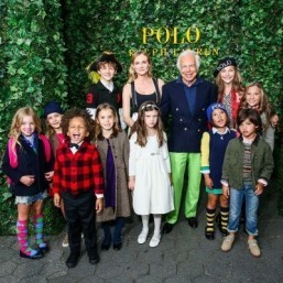 Ralph Lauren unveils kids Fall 2015 collection in Neverland-themed runway show