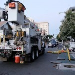 SCE crews restore power in Long Beach