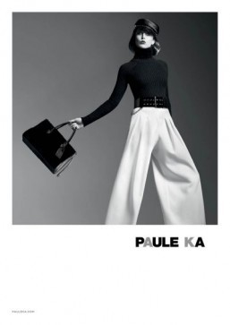Raquel Zimmermann poses for Paule Ka