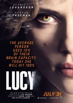 North American box office loves 'Lucy'