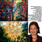 Lynda A. N. Reyes exhibits in two LA venues