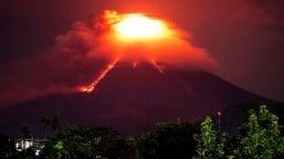Mayon Volcano's alert status raised to level 3