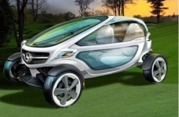 Mercedes unveils luxury concept golf cart