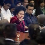 Trillanes, Cayetano not Miriam's VP