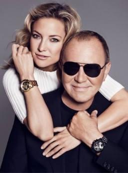 Michael Kors and Kate Hudson collaborate on a limited edition watch for a good cause