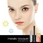 Spring 2015 makeup: metallic shades and natural lips at Shu Uemura