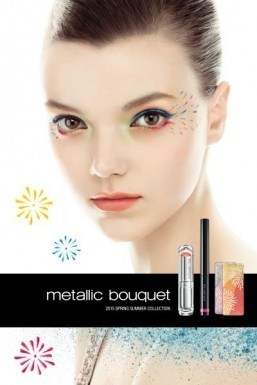 "Shu Uemura is launching its ""Metallic Bouquet"" makeup collection for the Spring-Summer 2015 season. ©Shu Uemura"