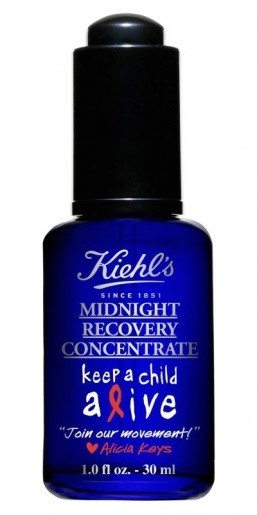 Kiehl's supports Alicia Keys' foundation with special edition Midnight Recovery Concentrate