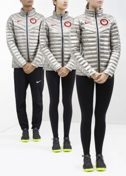 Nike's Team USA uniforms ©Nike