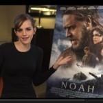 Emma Watson intros new 'Noah' trailer