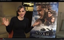 "Emma Watson plays a lead role in ""Noah."" ©2014 YouTube, LLC. All Rights Reserved."