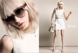 New images revealed of Abbey Lee Kershaw and Charlie Siem for Hugo Boss