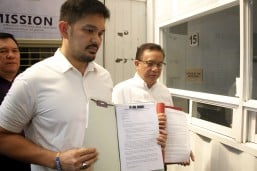 Complaint filed vs. Noynoy Aquino, Abad, Garin over violation of election law for vaccine program