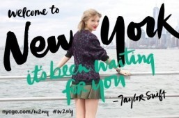 Tourism: Taylor Swift is NYC's latest spokesperson